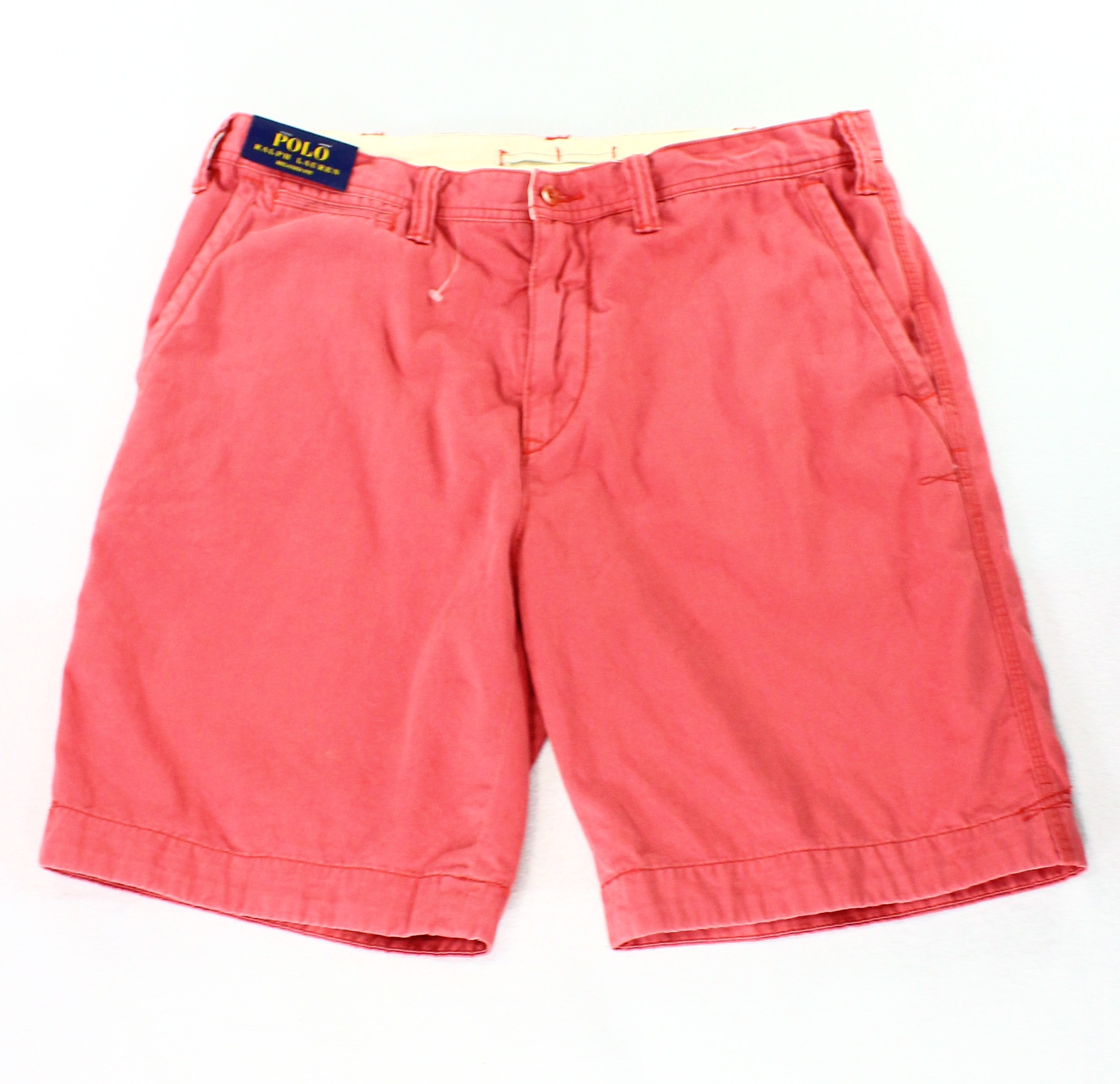 Polo Ralph Lauren Mens Shorts Relaxed Fit Flat Front Casual ...