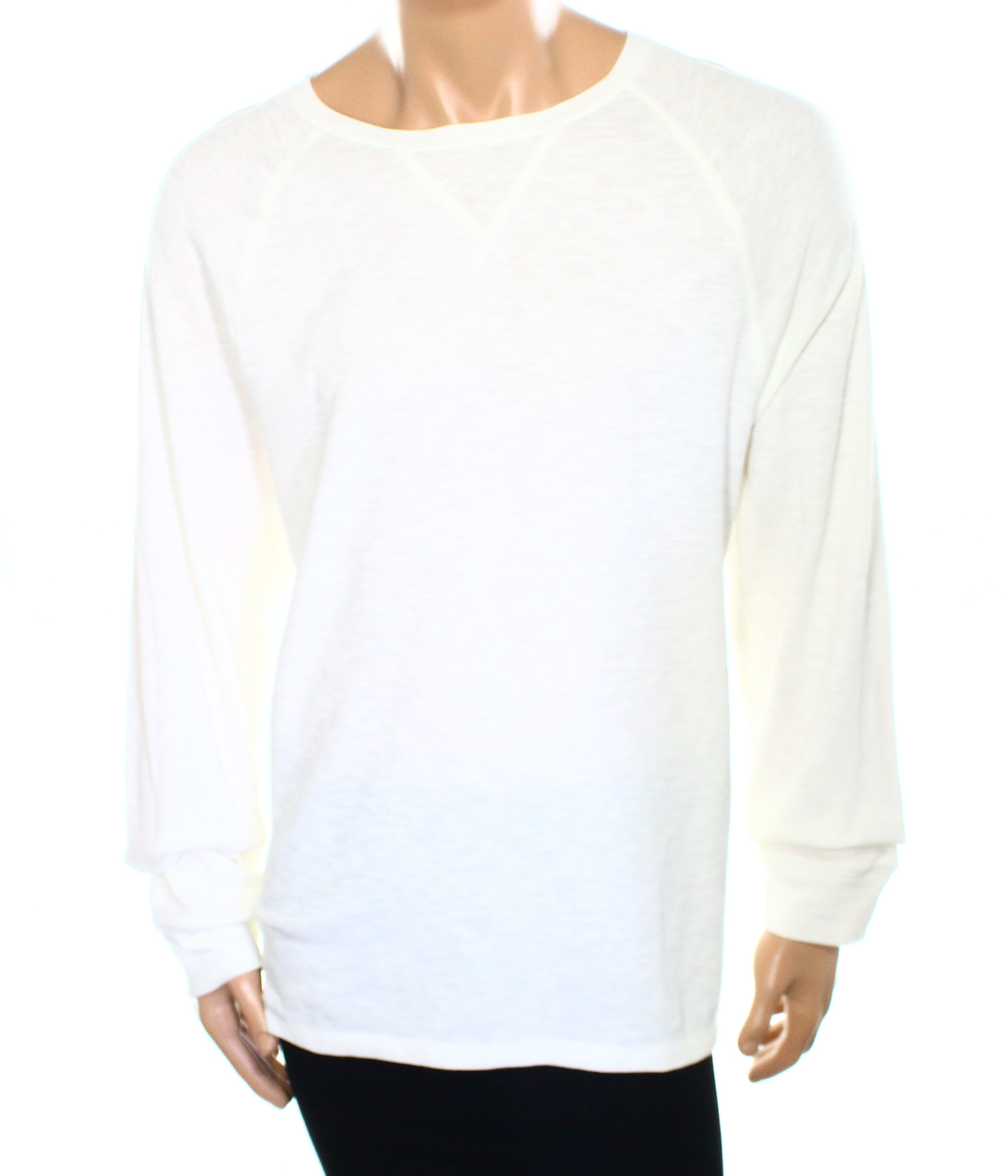 Club Room New White Ivory Mens Us Size 2xl Waffle Knit