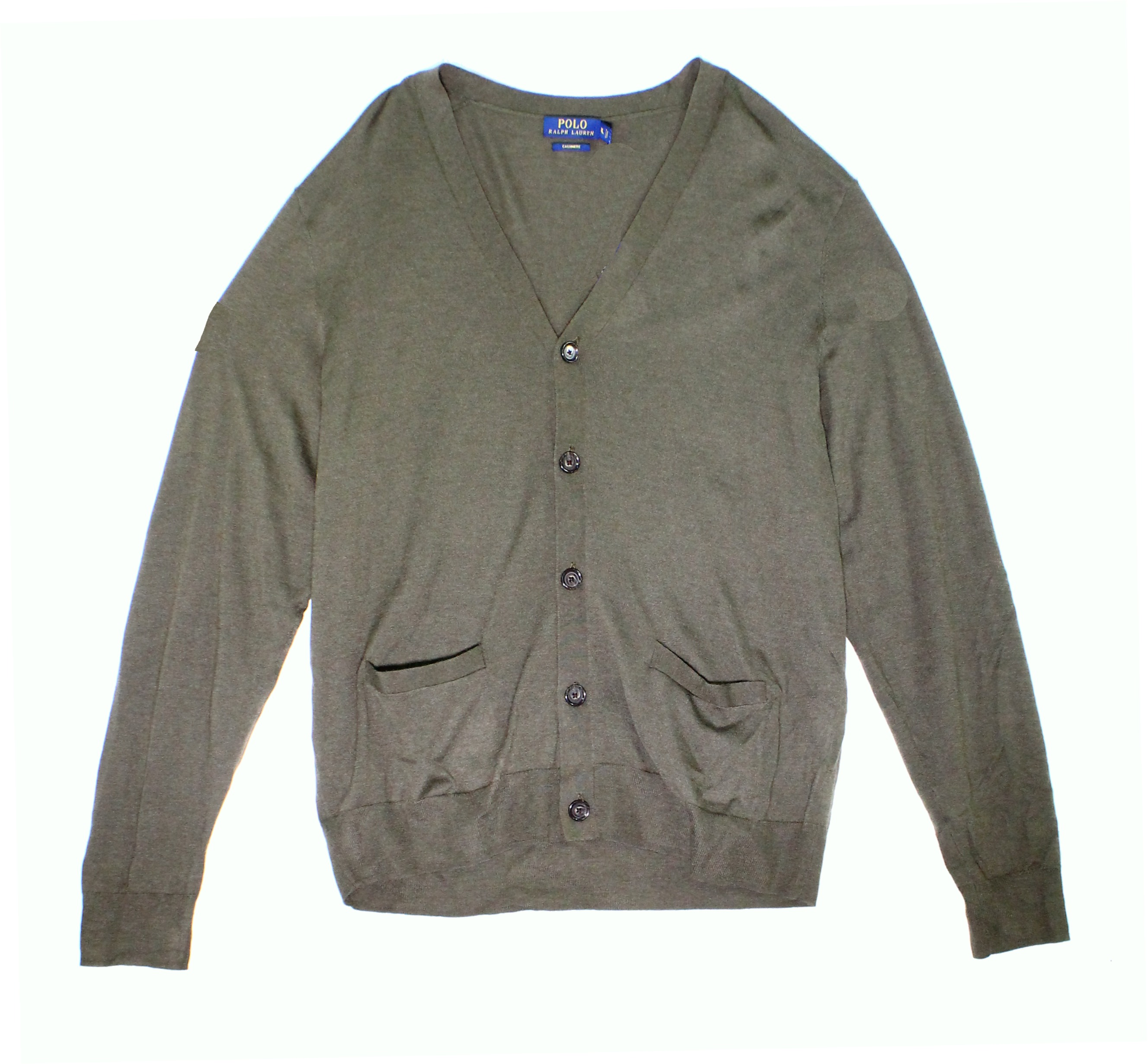 Polo Ralph Lauren NEW Green Mens Small S Button-Front Cardigan ...