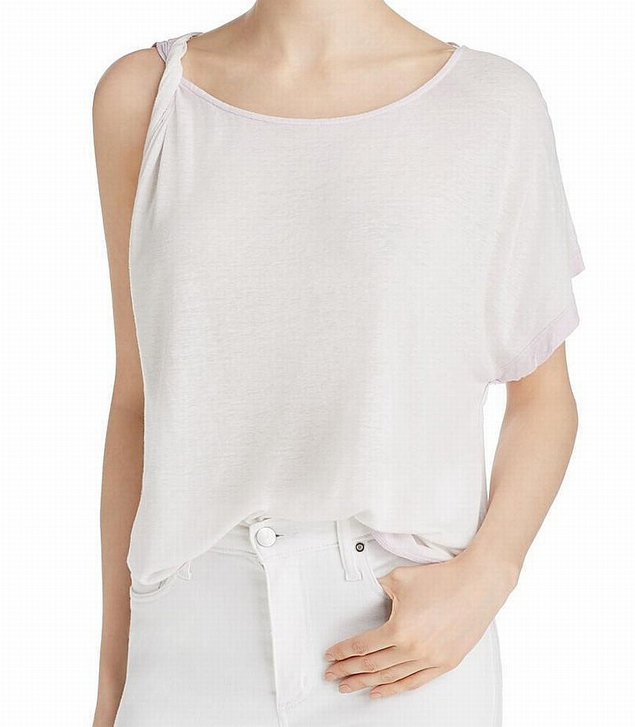 0996eb089c0001 Details about Free People NEW Purple Womens Size Medium M Cold-Shoulder  Knit Top $68 267