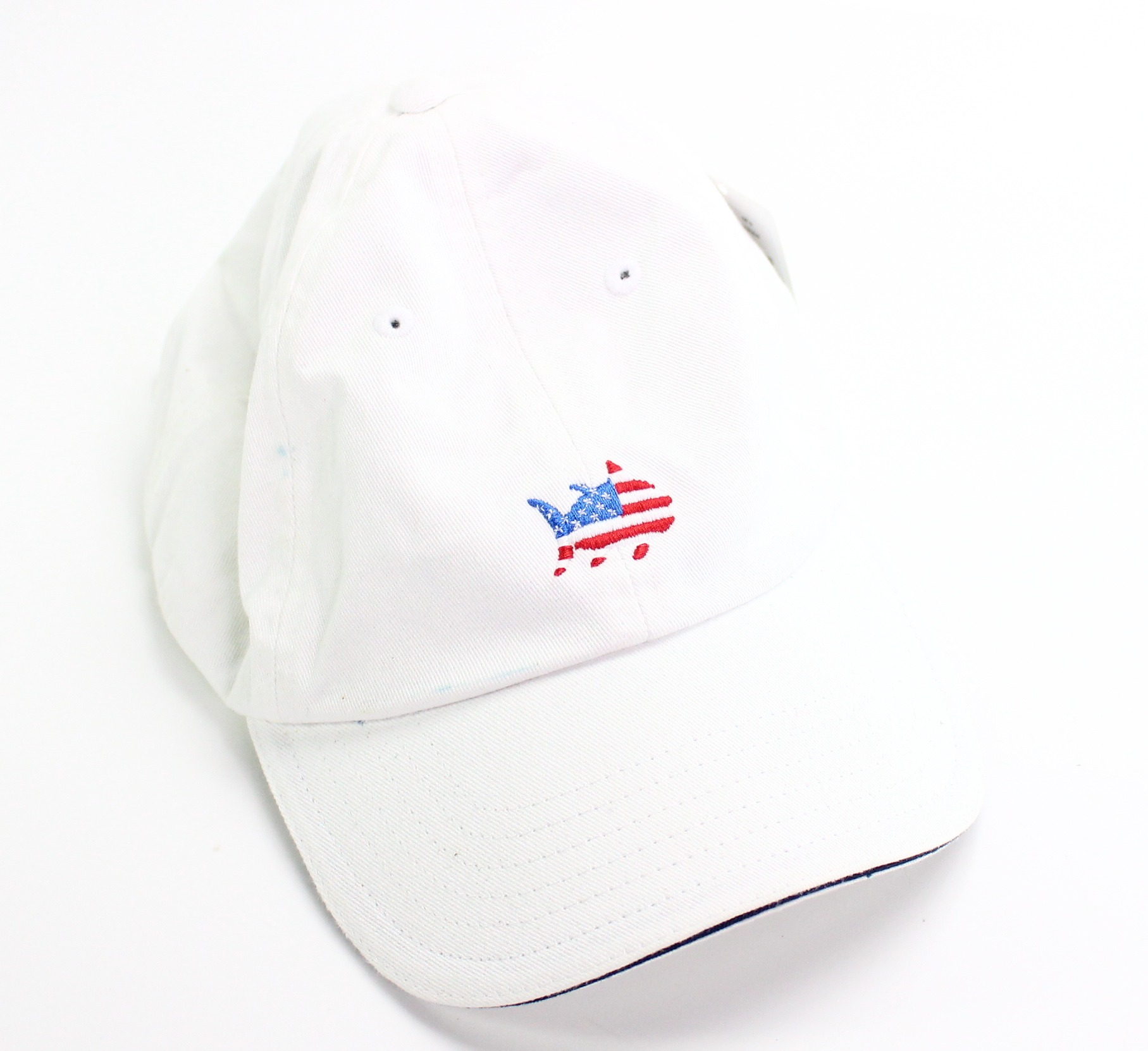 Details about Southern TIde NEW White Red Blue USA Adjustable Men s  Baseball Cap Cotton- 042 34b5f0181a7