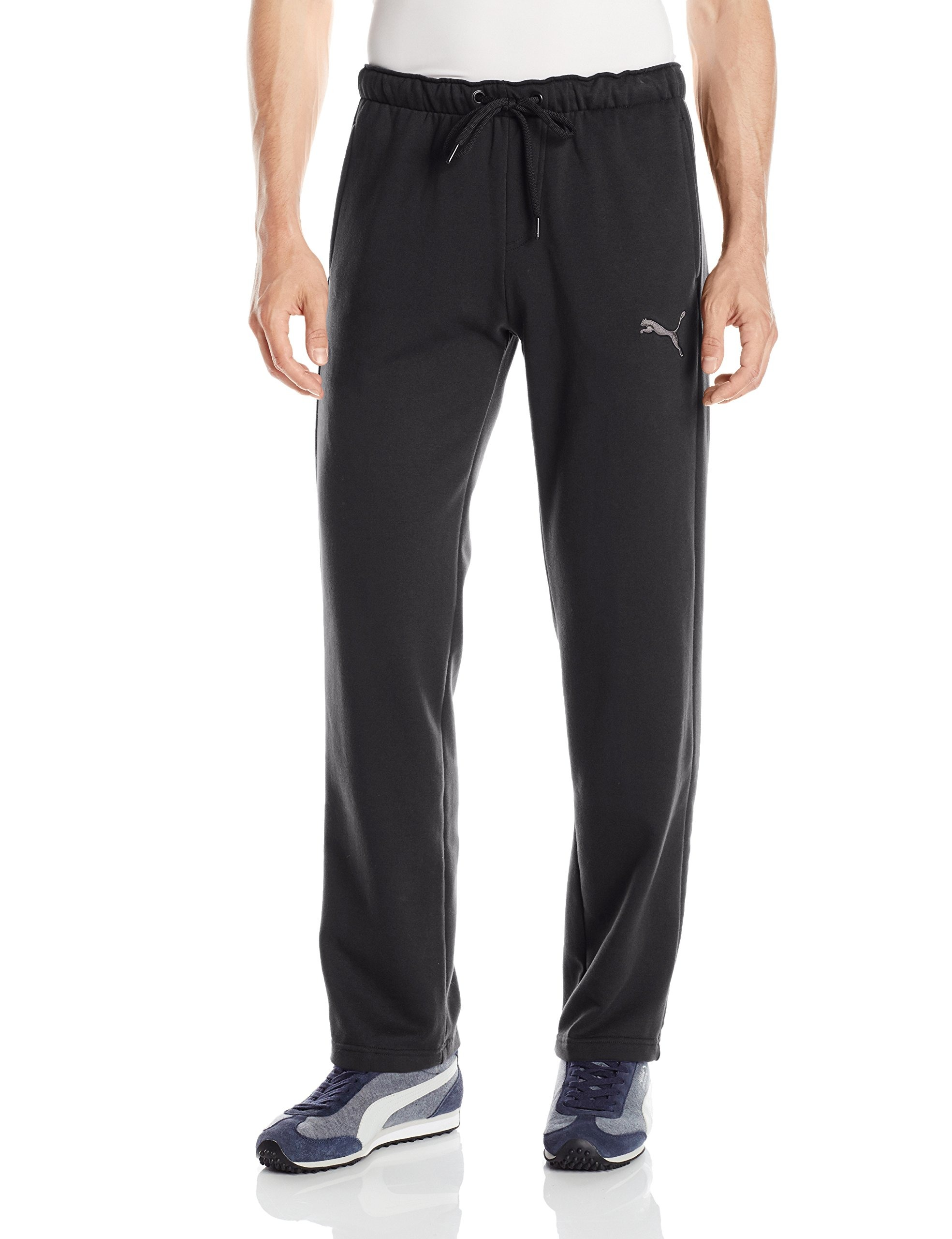 b46dd9726 Details about Puma NEW Black Mens Size XS Jogging Pull-On P48 Core Fleece  Pants  45 882