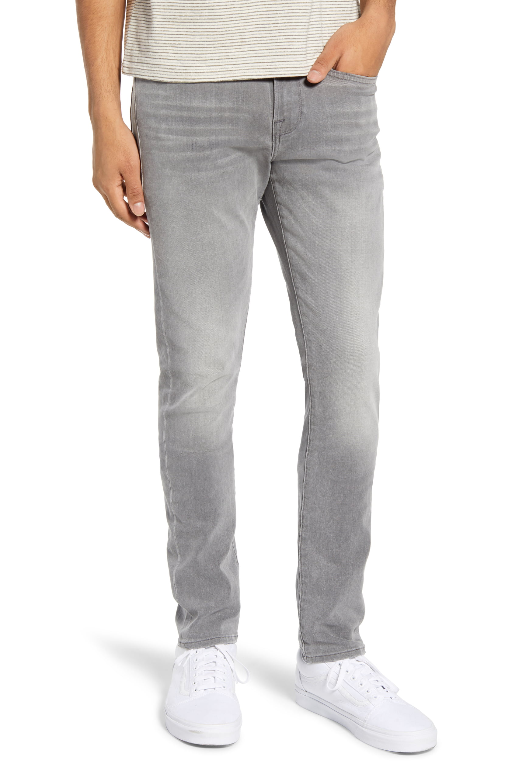 Frame Mens Jeans Fade To Gray Size 32x32 L/'Homme Skinny Fit Stretch $199 092
