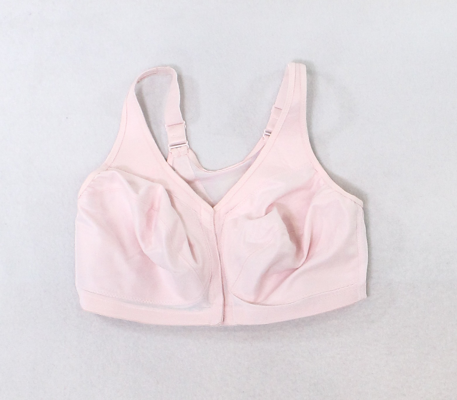 eb0d052e7f3 Details about Glamorise NEW Blush Pink Womens Size 36 F Hook + Eye  Mastectomy Bras  85 360