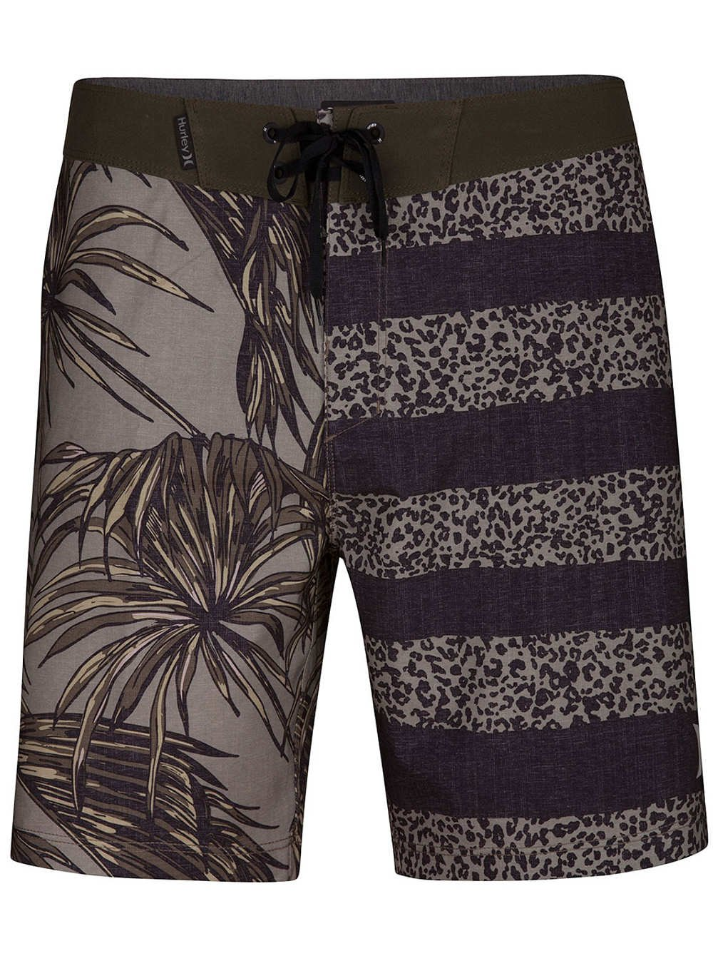 e912fc6a78 Details about Hurley NEW Olive Green Mens USA Size 36 Phantom Floral foot Board  Shorts $55 037